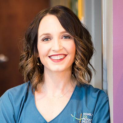 Headshot of Dr. Laura Juntgen lead dentist of Hamilton County Pediatric Dentistry